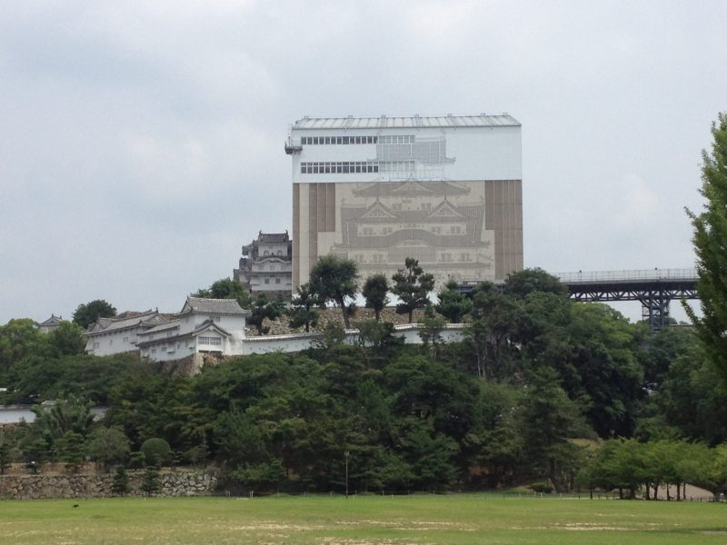 Himeji Castle Renovation